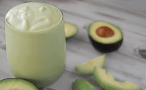 avocado mint smoothie