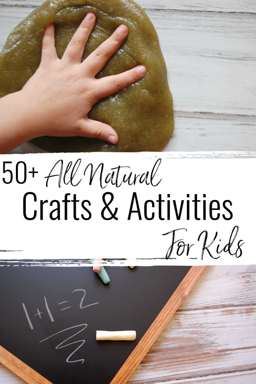 all natural crafts and activities for kids
