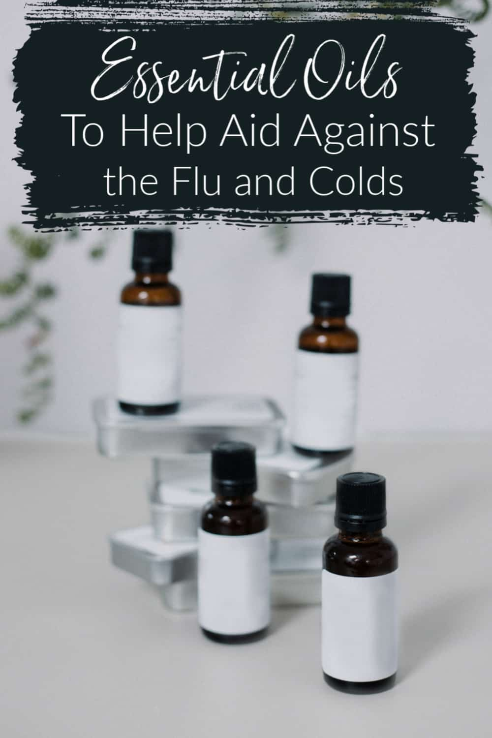 Essential Oils To Help With the Flu and Colds