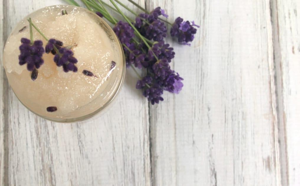 Relaxing Lavender Sugar Scrub