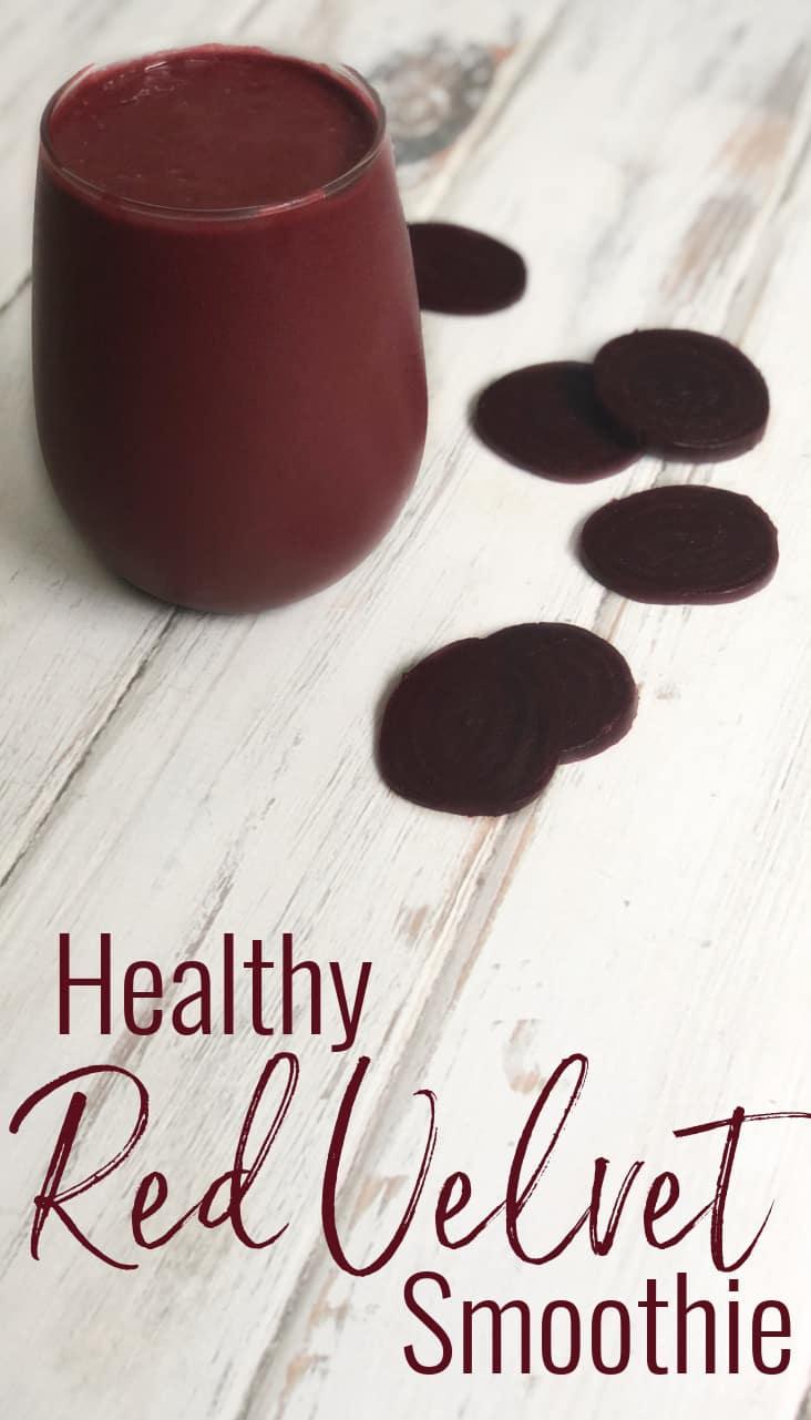Healthy Red Velvet Smoothie
